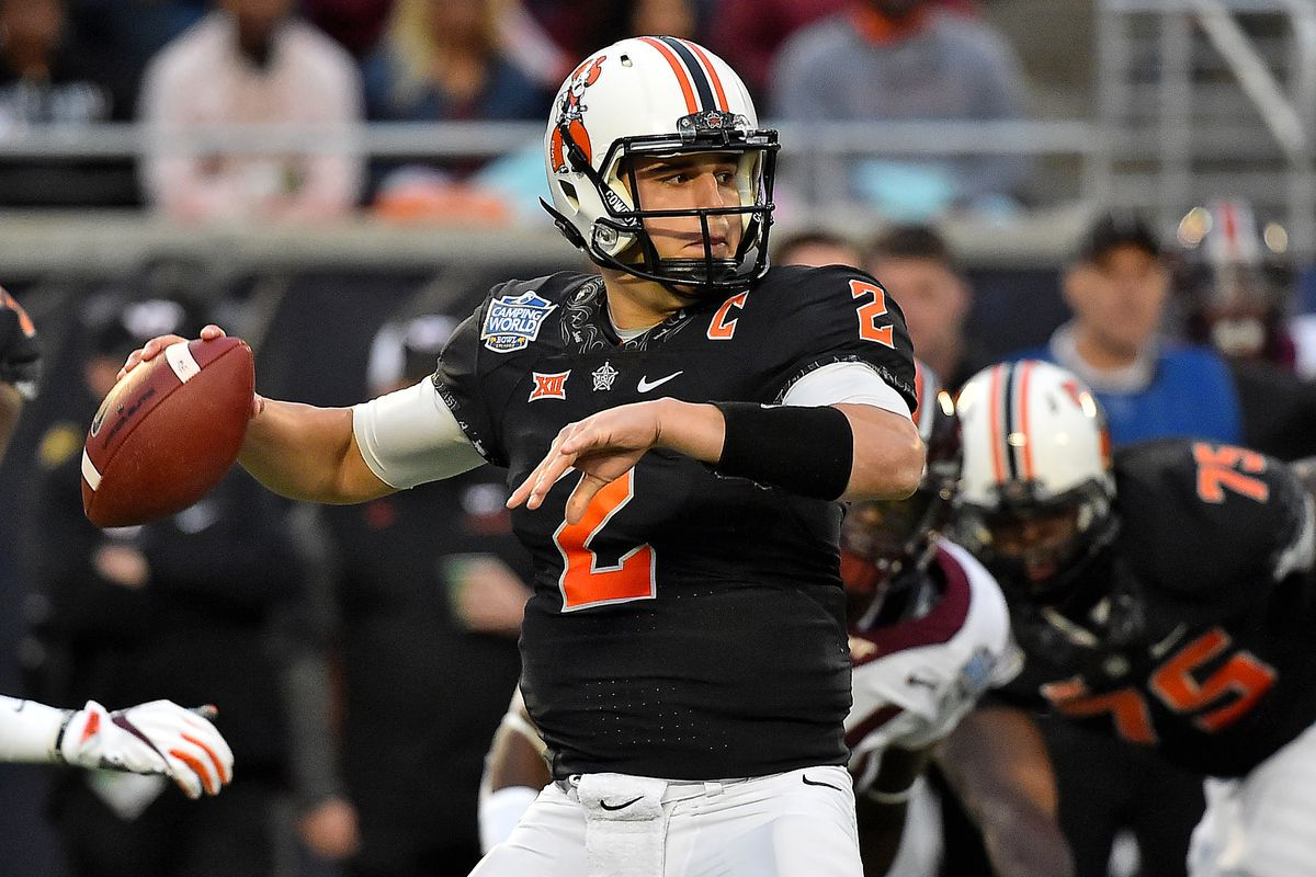 the best attitude 5c389 0e10a Mason Rudolph drafted by Pittsburgh Steelers in 3rd round of ...