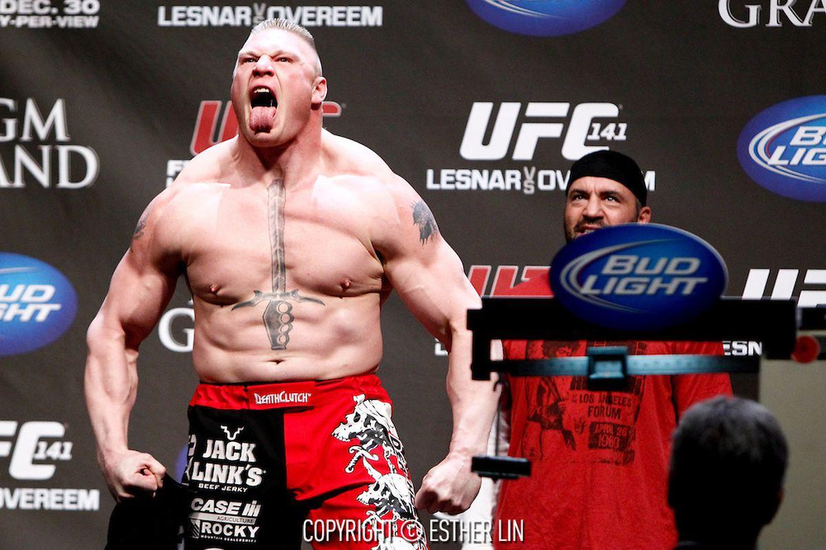 Mark Hunt reacts to Brock Lesnar's 'bulls--t' USADA ...