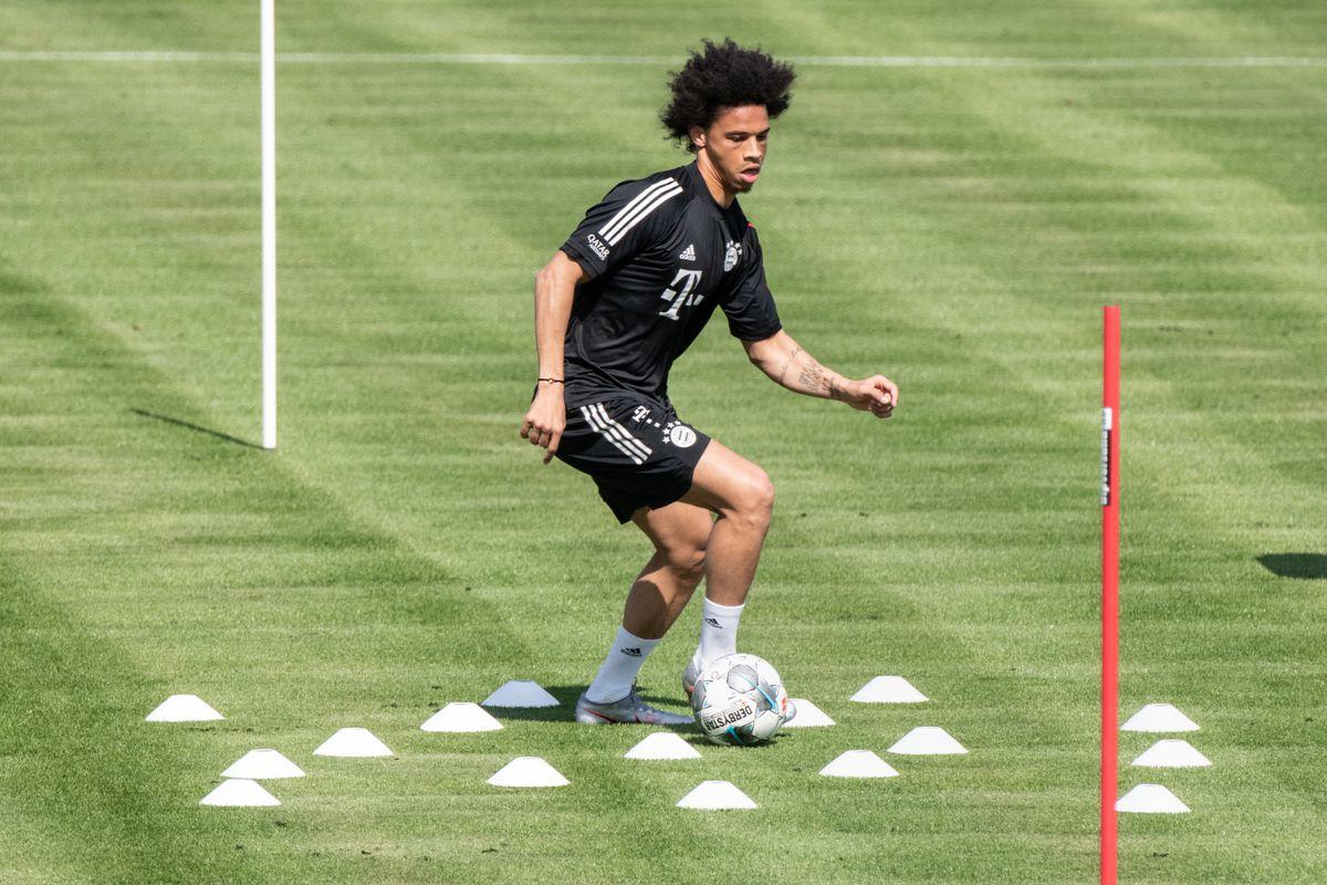 Leroy Sane passes knee endurance test in training for Bayern - Bavarian  Football Works
