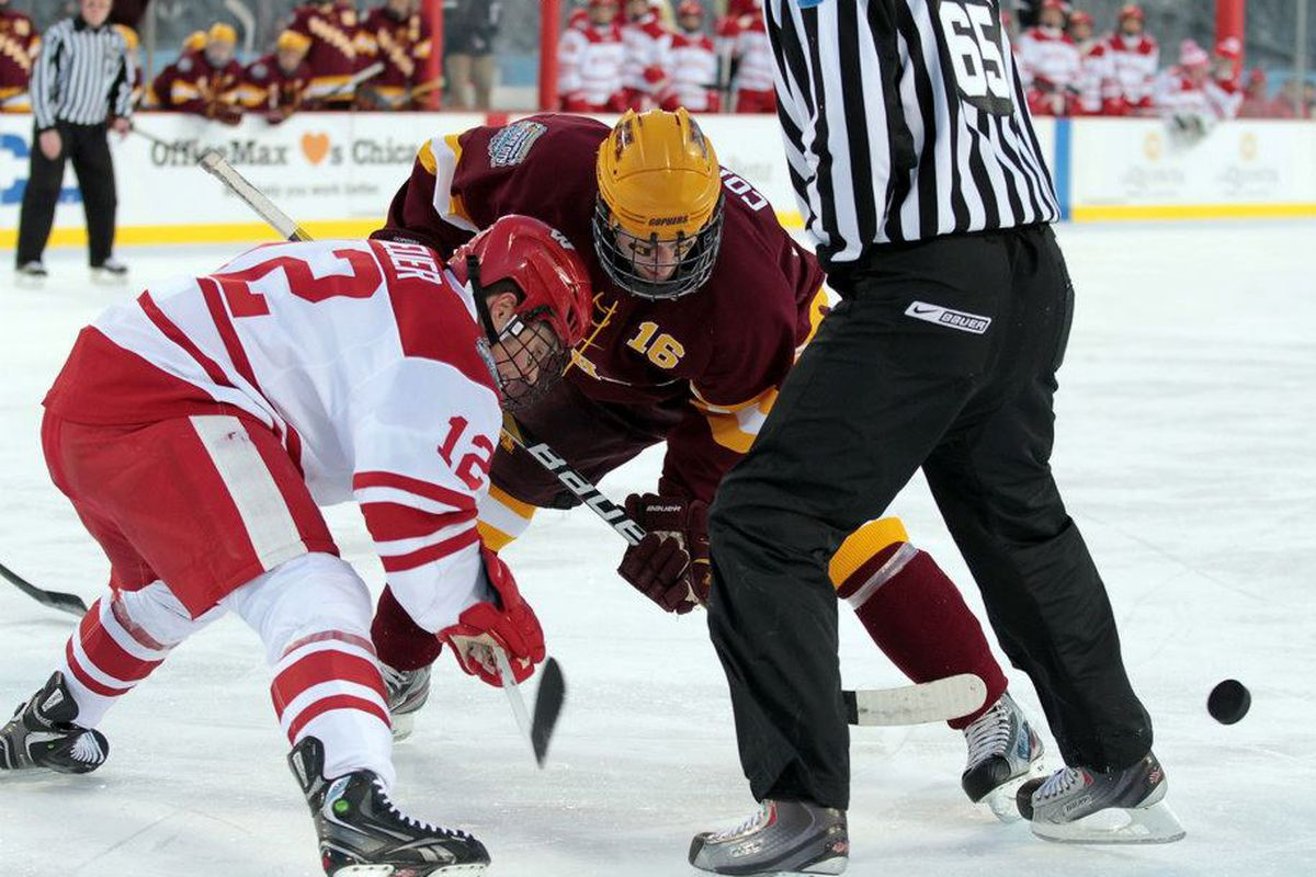 fdf60f71d Wisconsin hockey series preview: Badgers face top-ranked Gophers ...