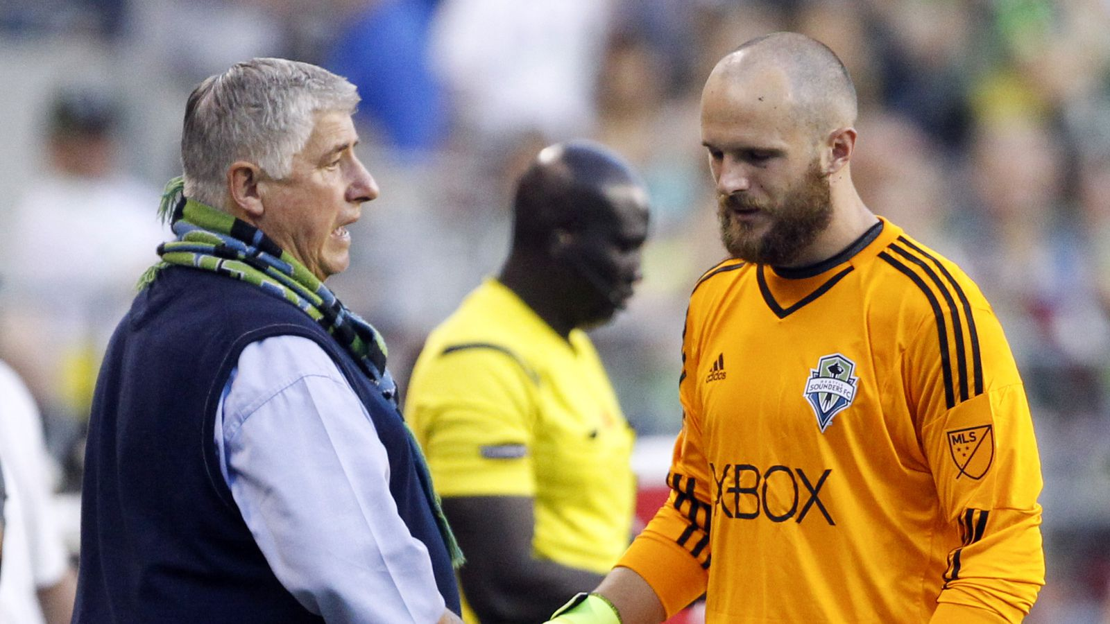 Stefan Frei unlikely to face Chicago Fire, but Sounders optimistic he won't be out long