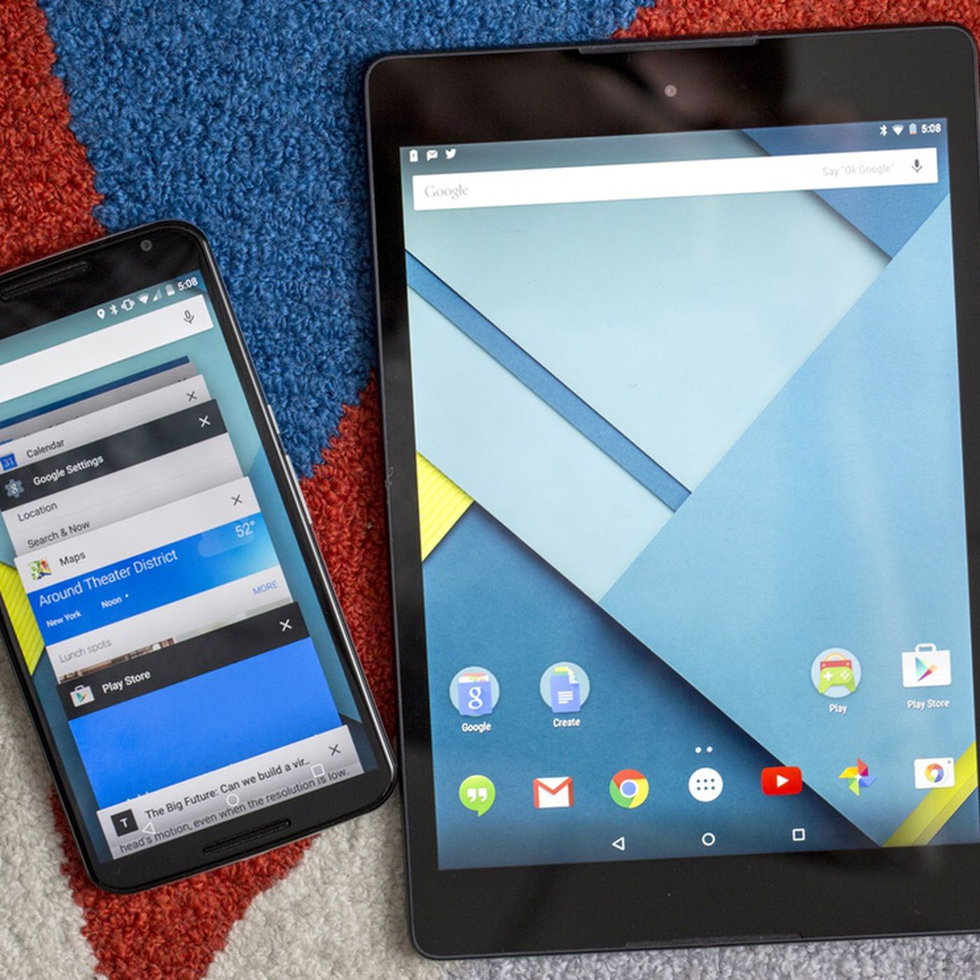 Android 5 0 Lollipop review | The Verge