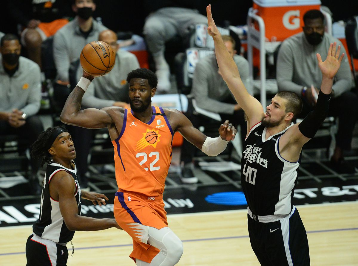 NBA: Playoffs-Phoenix Suns at Los Angeles Clippers