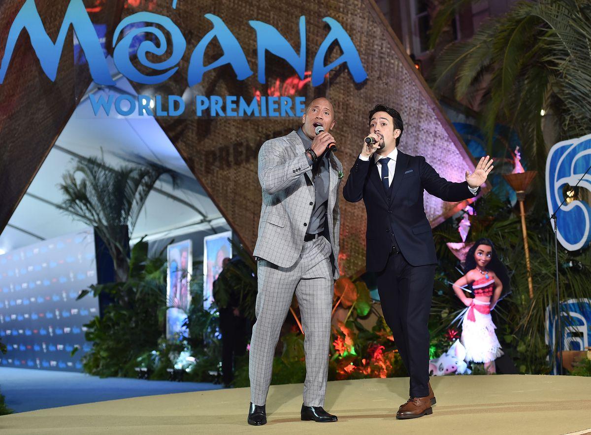The World Premiere of Disney's 'MOANA'