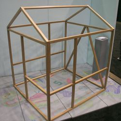"""<b>North Forty Designs</b>' large-scale <a ref=""""http://northfortydesign.com/shop/framehouse""""target=""""_blank"""">play spaces</a> for kids encourage open-ended and creative play."""