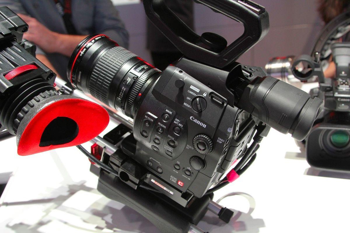 Canon Cinema EOS C300 vid
