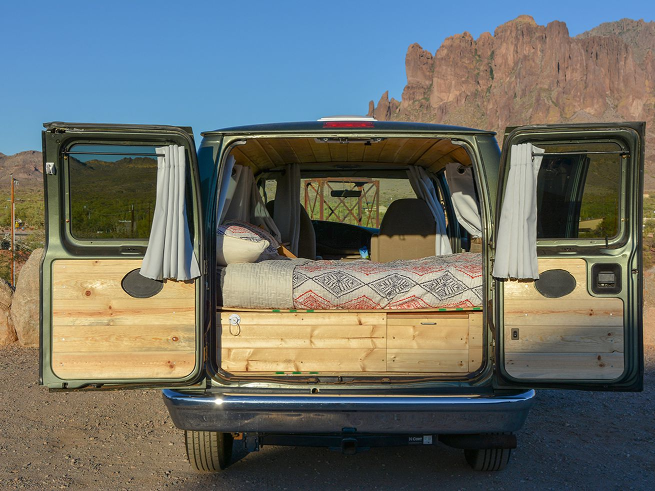 Boho Camper Vans is renting and selling converted campers in Phoenix, Arizona.