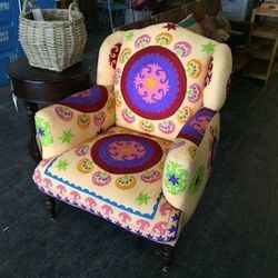 """I've been obsessed with nesting ever since my boyfriend and I decided to move in together, so I've been frequenting this local furniture store <a href=""""http://wrightwoodfurniture.com"""">Wrightwood Furniture</a> [3036 North Lincoln Avenue]. It's owned by a f"""
