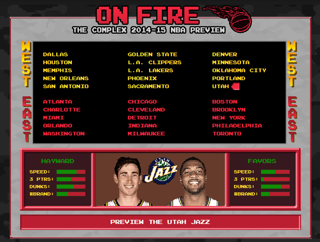Utah Jazz Downbeat - Complex Mag Preview
