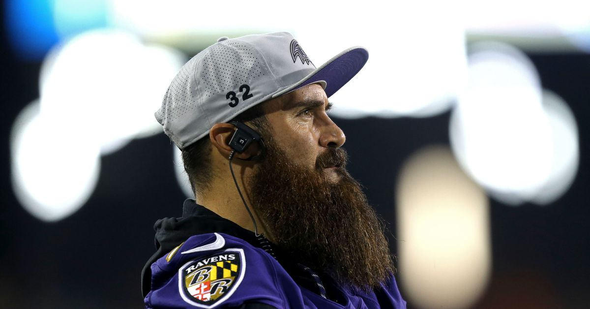 Ravens training camp attendance report 8/14: Eric Weddle receives the day off