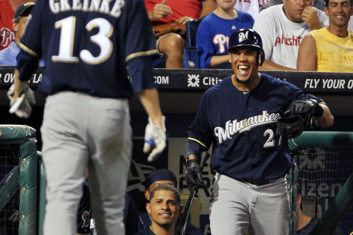 As it turns out, this was one of Greinke's final Brewer moments.