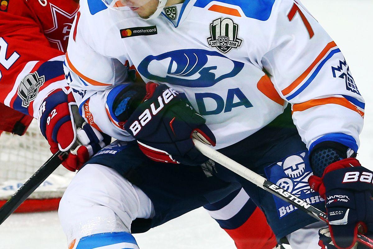 Kontinental Hockey League: CSKA Moscow vs Lada Togliatti