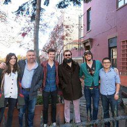Kate Toupin, chef Robert Newton, Matt Myers, Shane Cody, Zak Appleby, and GM Jorge Salamea.