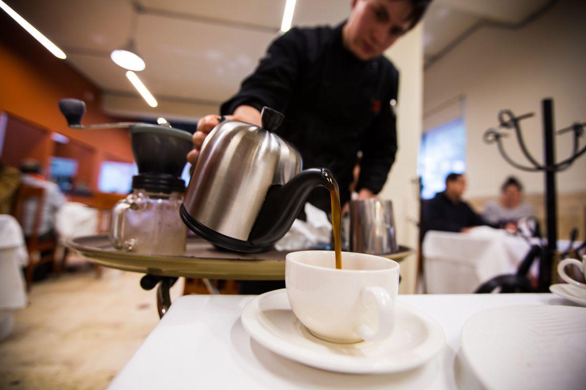 Restaurante Nicos coffee