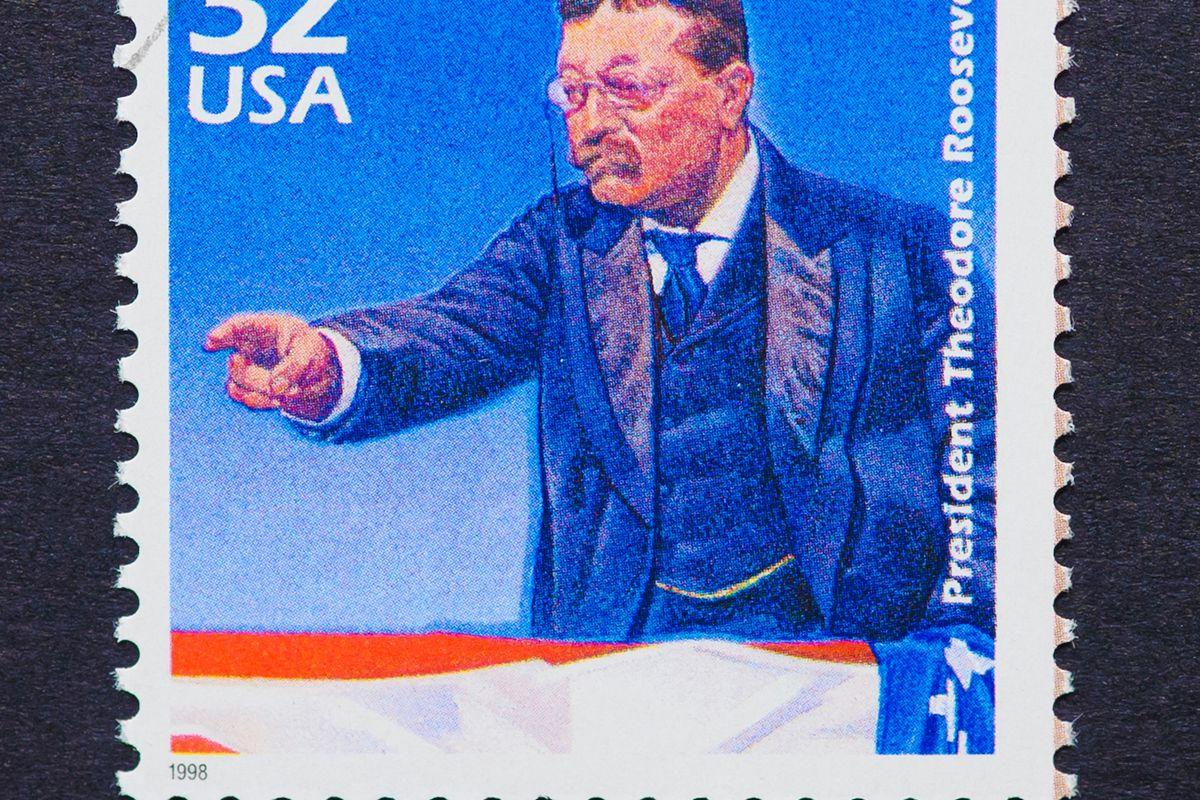 Theodore Roosevelt stamp