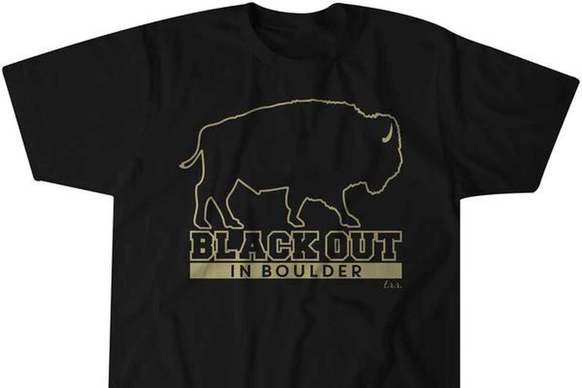 University of Colorado T-Shirts - Colorado Buffaloes T-Shirts ...