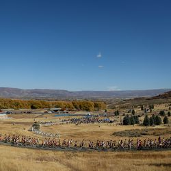 The 5A state cross-country championships are held at Soldier Hollow in Midway on Thursday, Oct. 22, 2020.