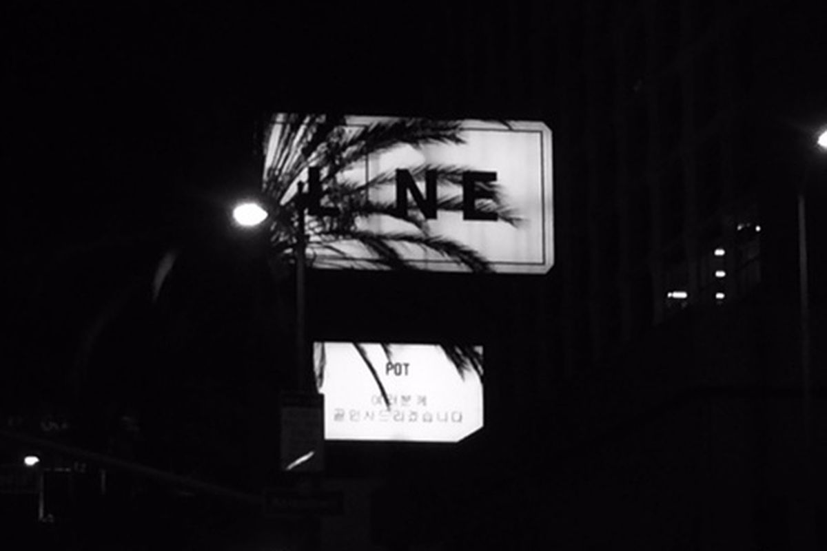 Outside The Line Hotel, K-Town.