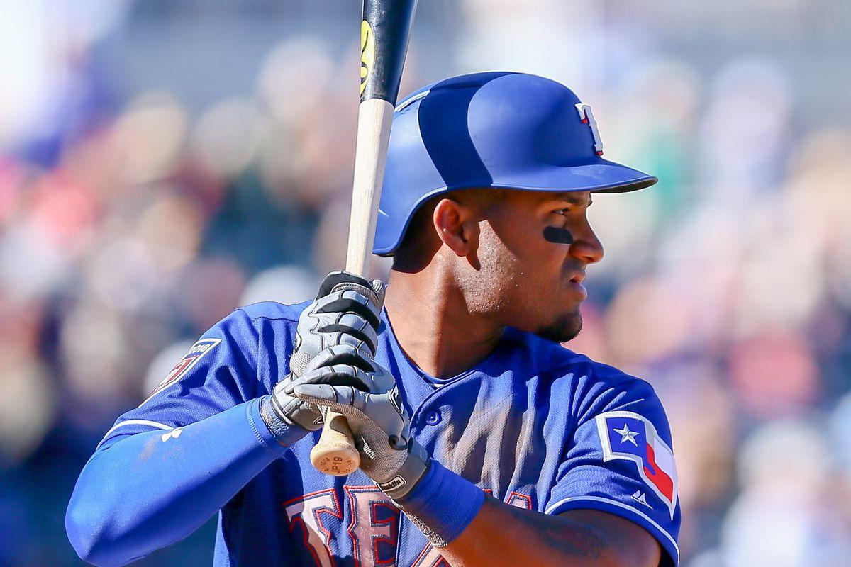 MLB: FEB 25 Spring Training - Rockies at Rangers