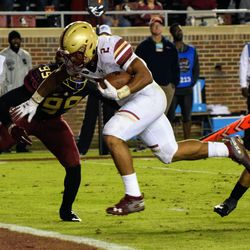 It looked bleak for the 'Noles as AJ Dillon rushes for a TD in the 4th Quarter.