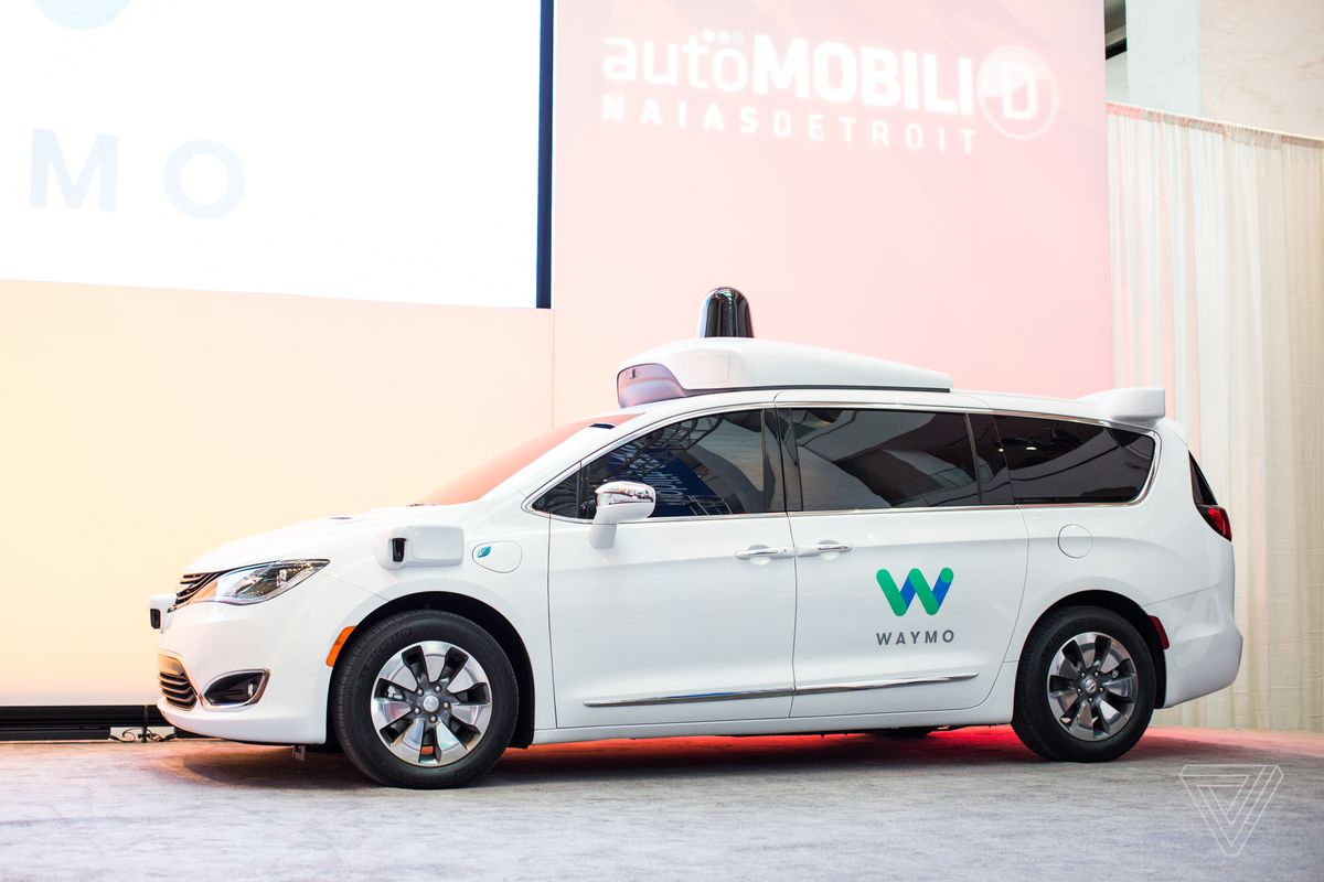 Waymo S Fleet Of Self Driving Minivans Is About To Get 100 Times Ger