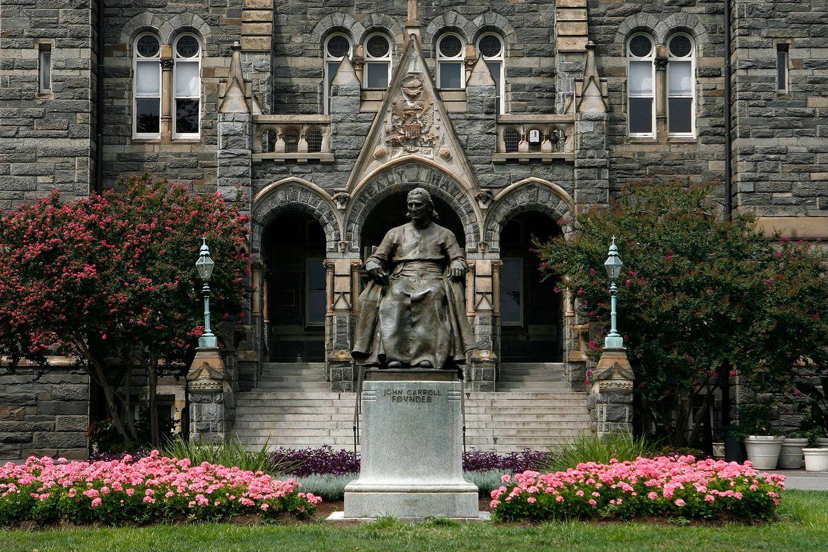 Georgetown university admission essay