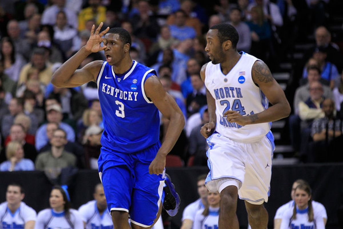 Kentucky and North Carolina will be facing off again in 2013.