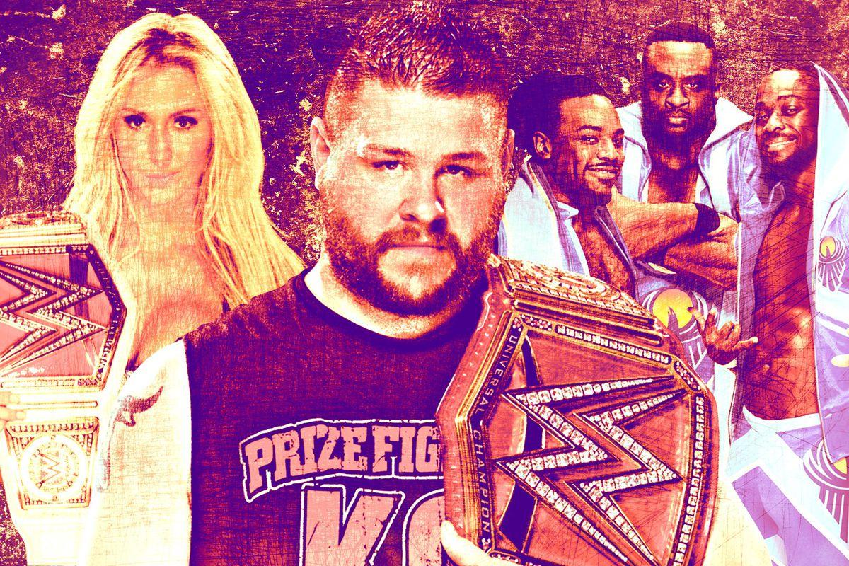 WWE/Ringer illustration