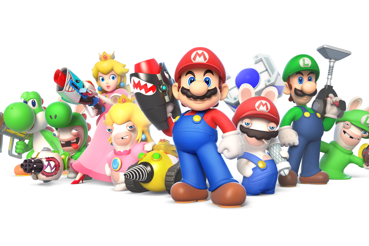 Image result for mario rabbids