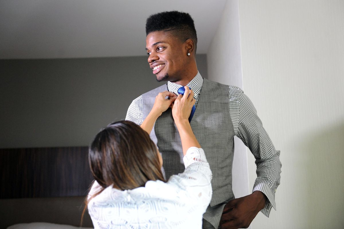 The Sixers spent a 3rd Rounder on Tie Lady.