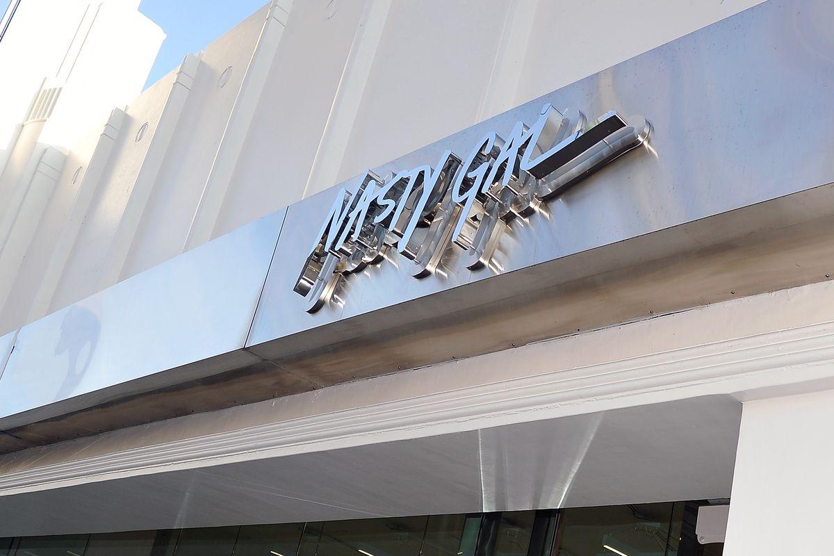 Nasty Gal storefront
