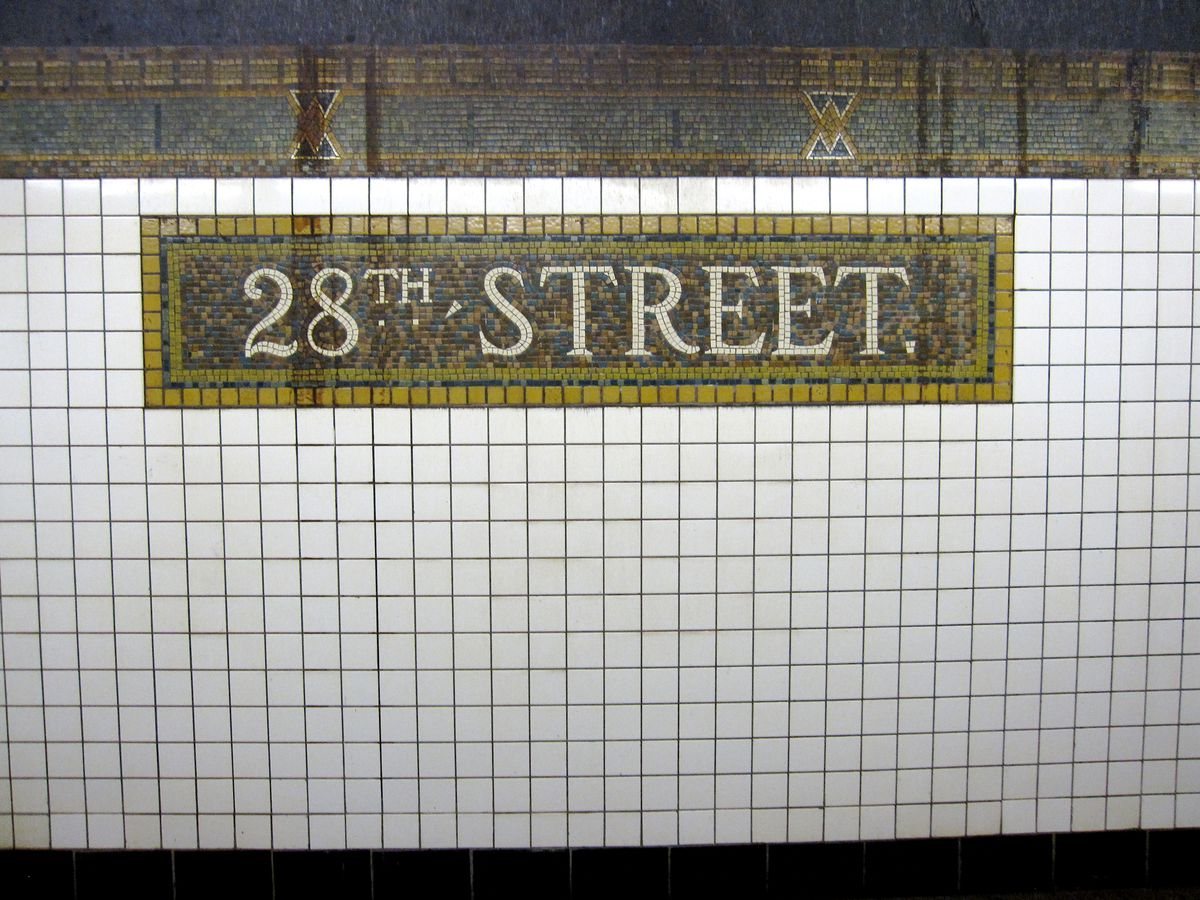 20 Nyc Subway Stations With Show Stopping Tile Art Curbed Ny