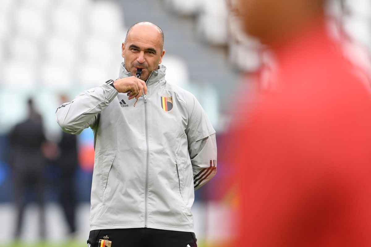 Belgium Press Conference And Training Session - UEFA Nations League 2021 Third Place Match