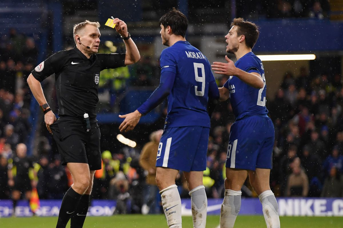 Three Chelsea players cautioned for simulation