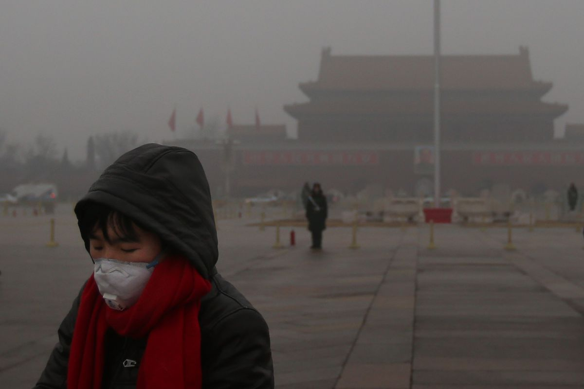 Beijing Air Pollution Is Still At The Dangerous Level