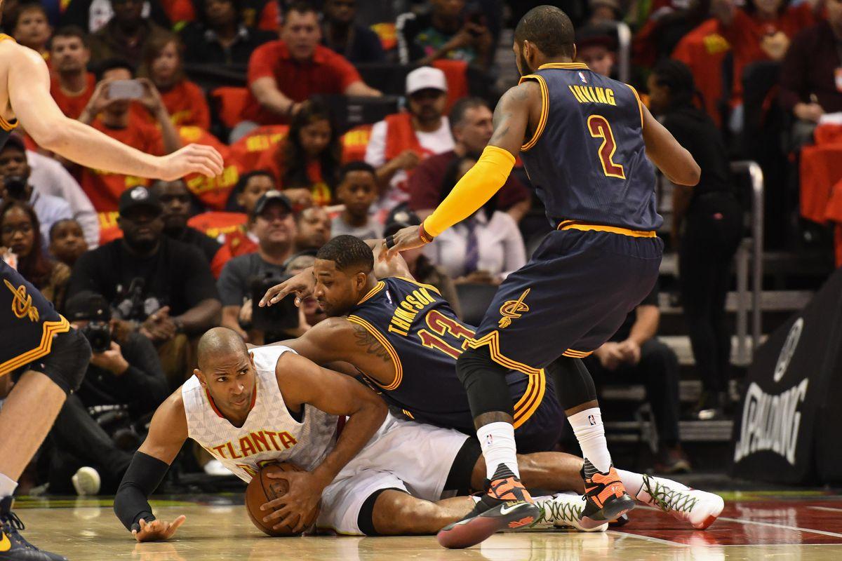 NBA: Playoffs-Cleveland Cavaliers at Atlanta Hawks