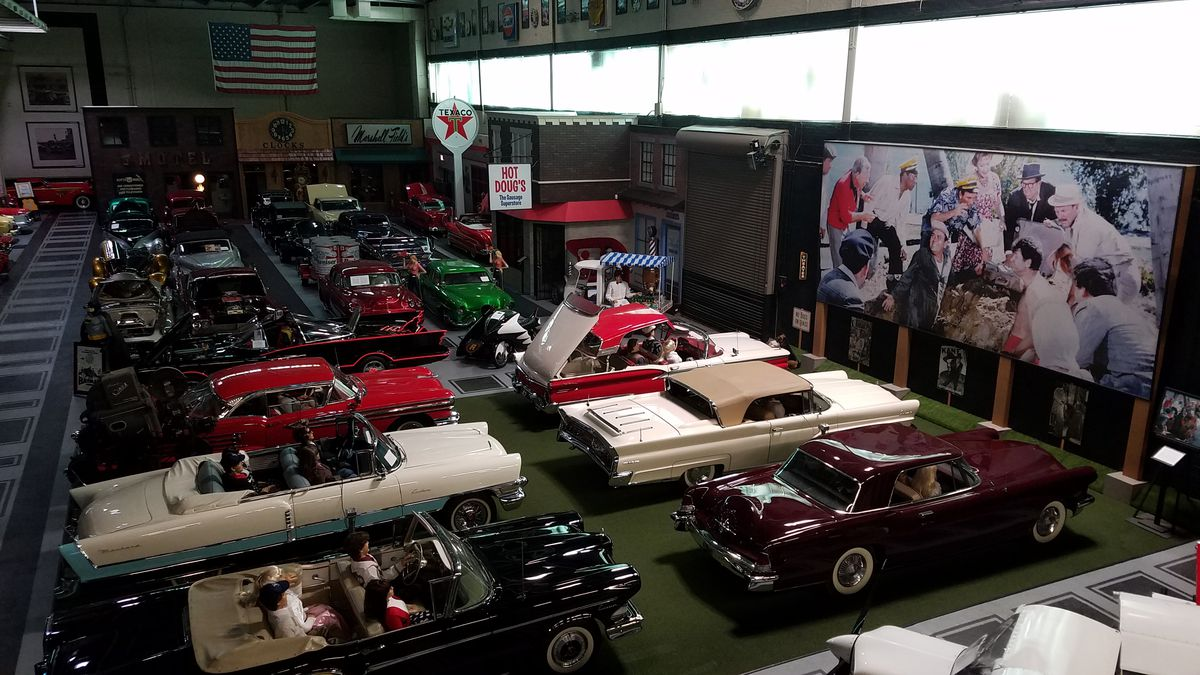 Over 300 cars are on display at the Klairmont Kollection car museum in Chicago.   Robert Olson/Klairmont Kollections
