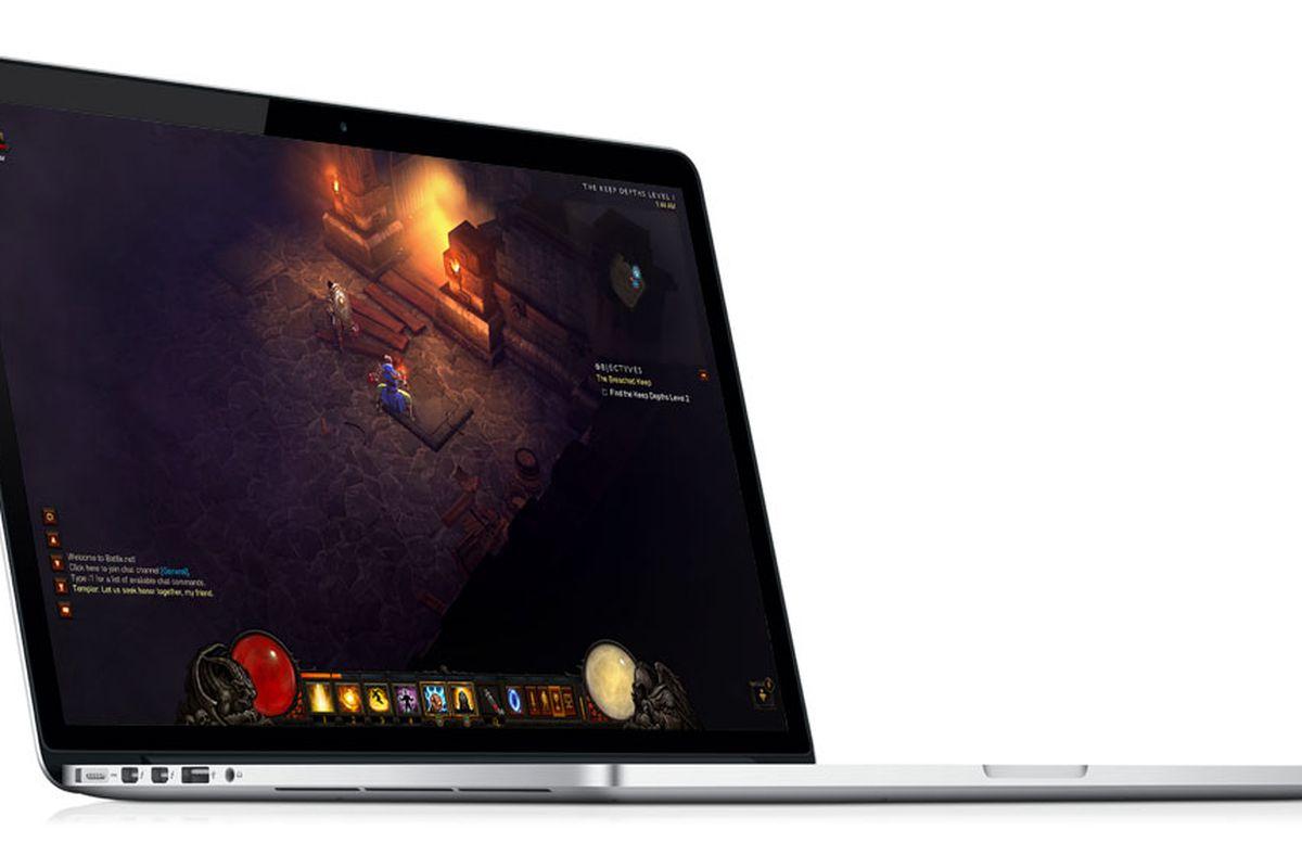 Diablo 3 for MacBook Pro with Retina Display