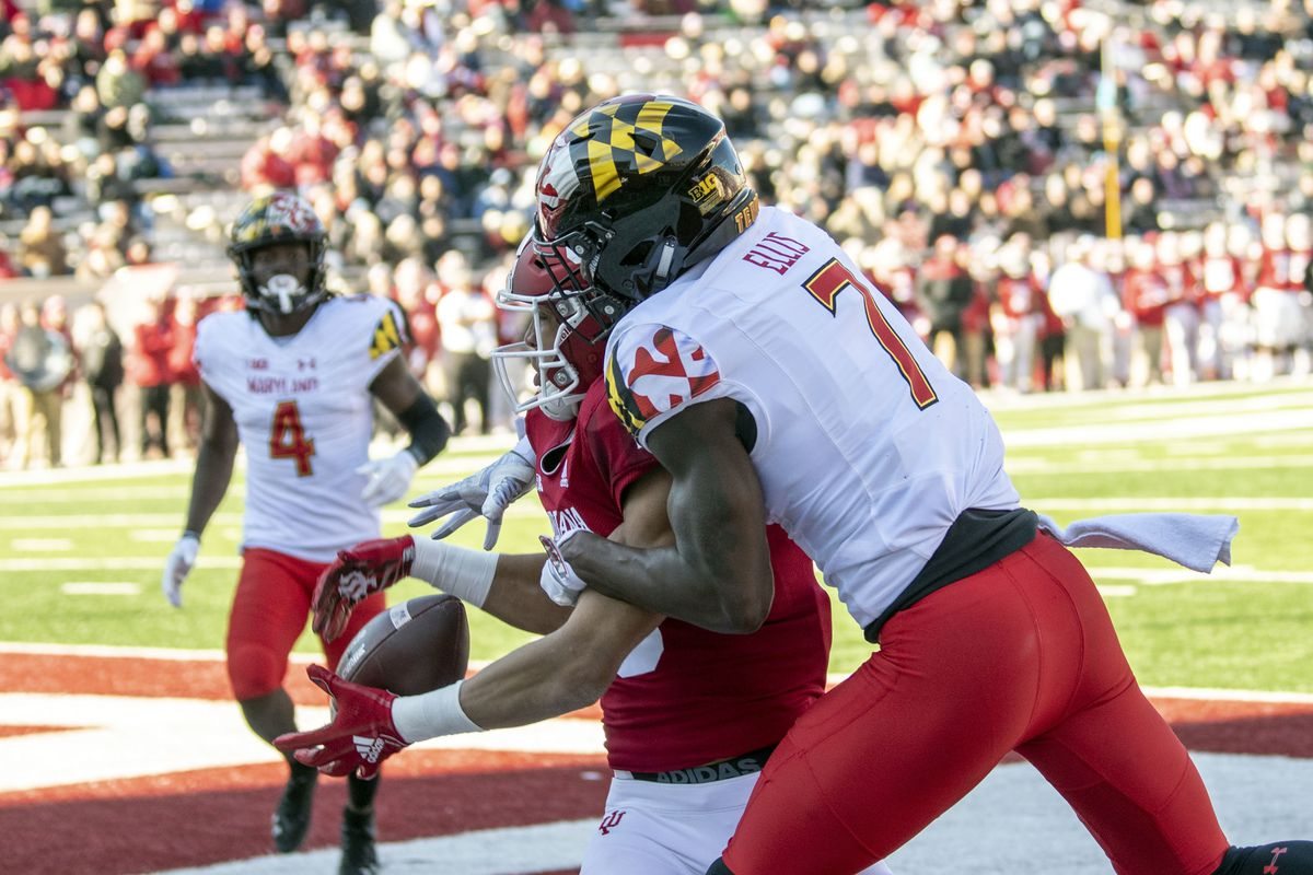 Maryland football's Tino Ellis out for season