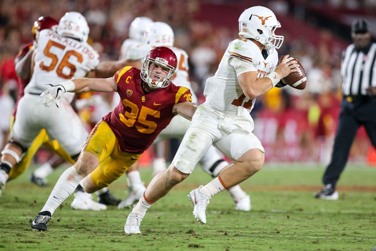 COLLEGE FOOTBALL: SEP 16 Texas at USC