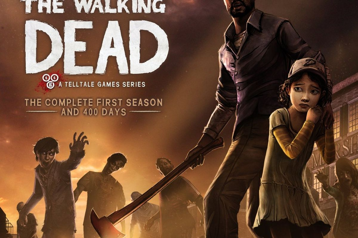 The Walking Dead Goty Edition Includes Season One And 400