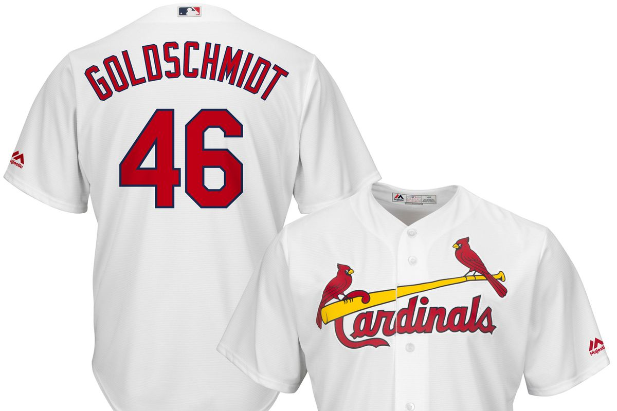 best service 7cf48 77bac Load up on new Paul Goldschmidt Cardinals apparel - SBNation.com