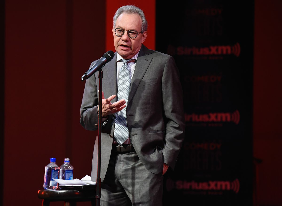 Comedian Lewis Black Performs At Private Event Exclusively For SiriusXM Subscribers At The Barrow Street Theatre In New York City