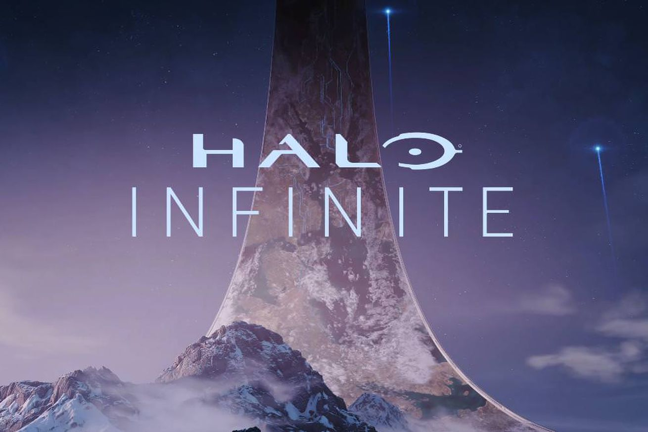 microsoft teases halo infinite for xbox one and windows 10