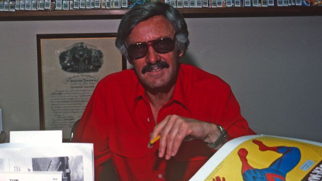 Stan Lee of Marvel Comics on June 15, 1978 in New York, NY