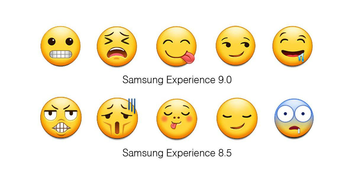 Samsung Is Finally Updating Its Terrible Emoji The Verge