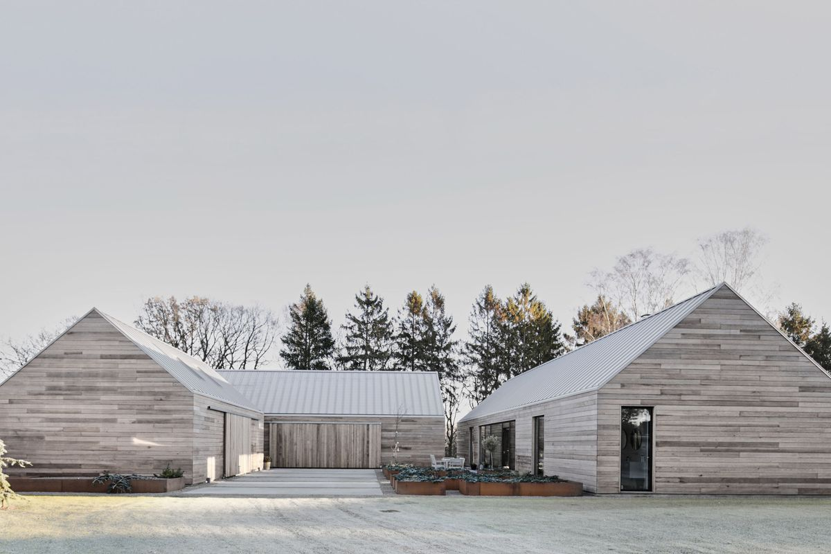 Wondrous Modern House In Denmark Reinterprets The Barn Look Curbed Download Free Architecture Designs Scobabritishbridgeorg