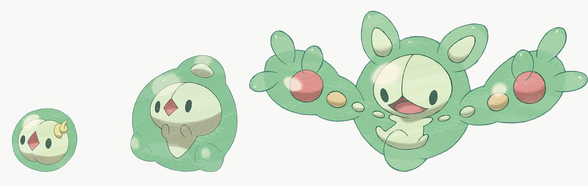 Solosis, Duosion, and Reuniclus are exclusive to Pokémon Shield