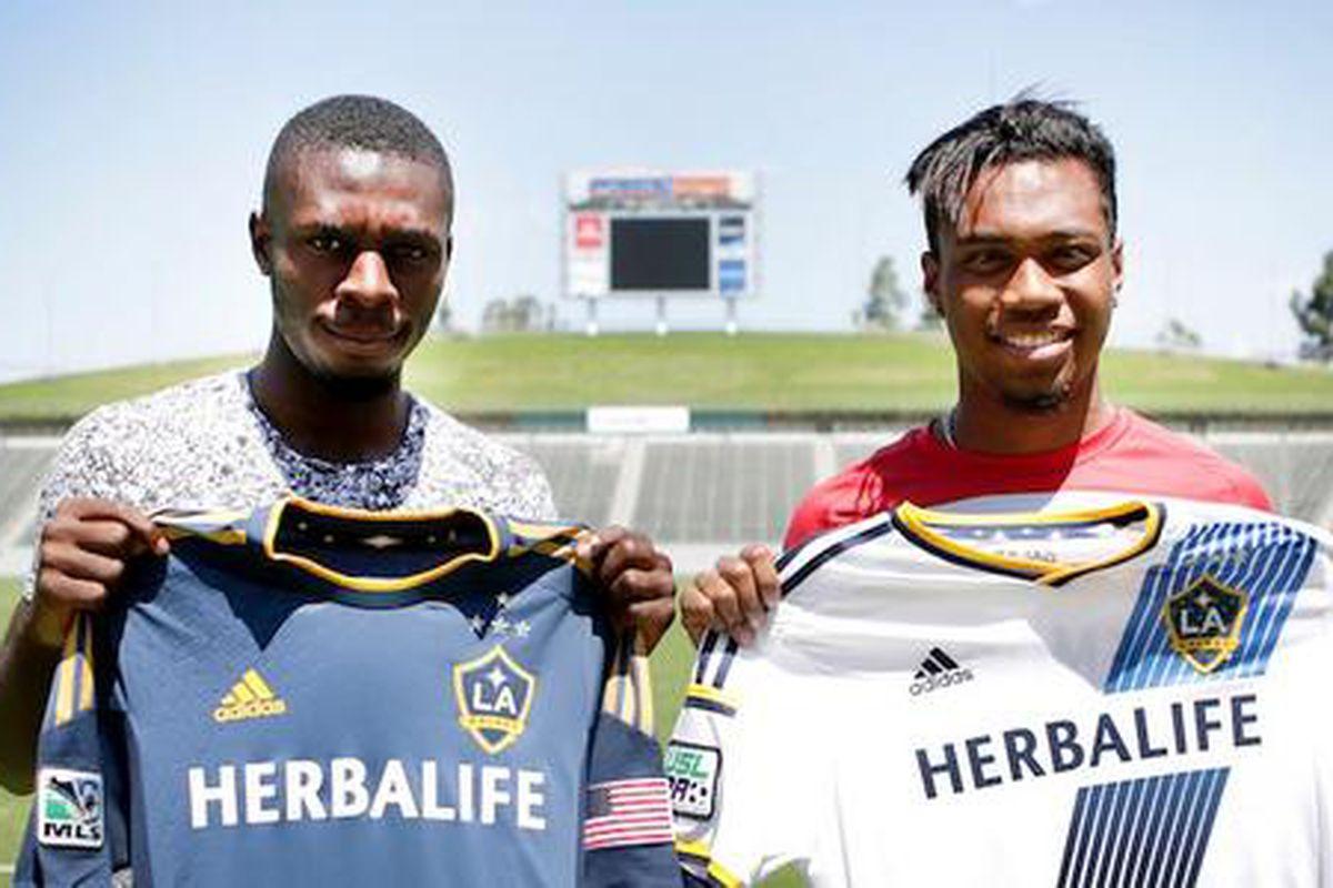 LA Galaxy II sign Kainoa Bailey and Jason Bli