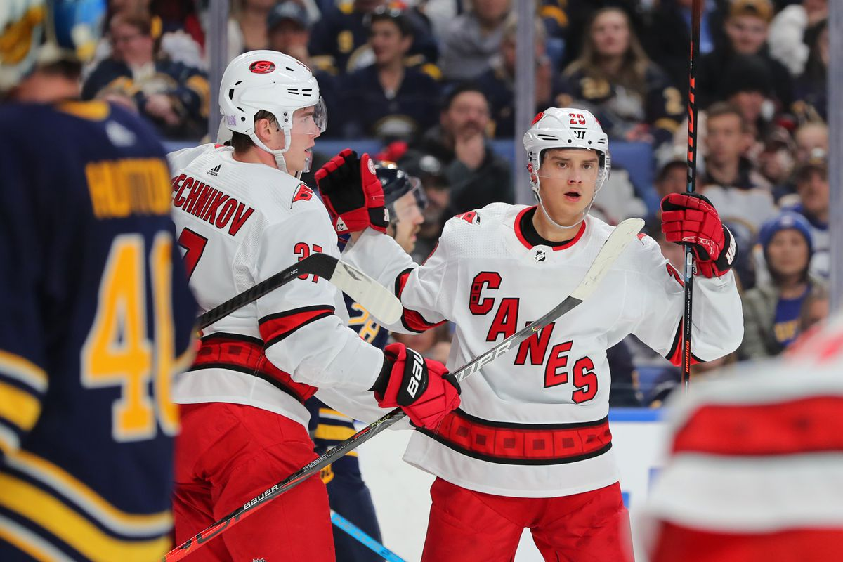 NHL: Carolina Hurricanes at Buffalo Sabres